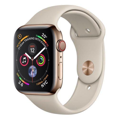 Apple Watch Nike+ Series 4 GPS + LTE (MTXC2/MTXK2) 44mm Silver Aluminum Case with Pure Platinum/Black Nike Sport Band