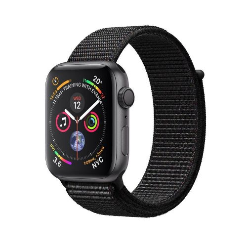 Apple Watch Nike+ Series 4 GPS + LTE (MTXC2/MTXK2) 44mm Silver Aluminum Case with Pure Platinum/Black Nike Sport Band