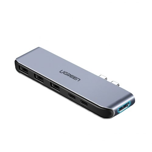 Адаптер Ugreen 6-in-1 USB-C HDMI Multifunction Adapter