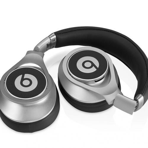 Наушники Monster Beats by Dr. Dre Executive Silver